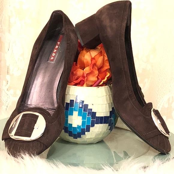 Prada Shoes | Prada One Single Right Foot Leather Brown